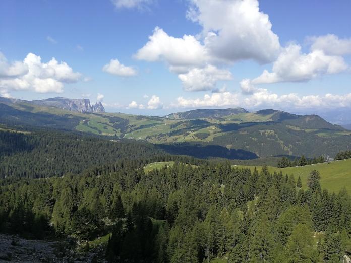 Veduta dell'Alpe di Siusi