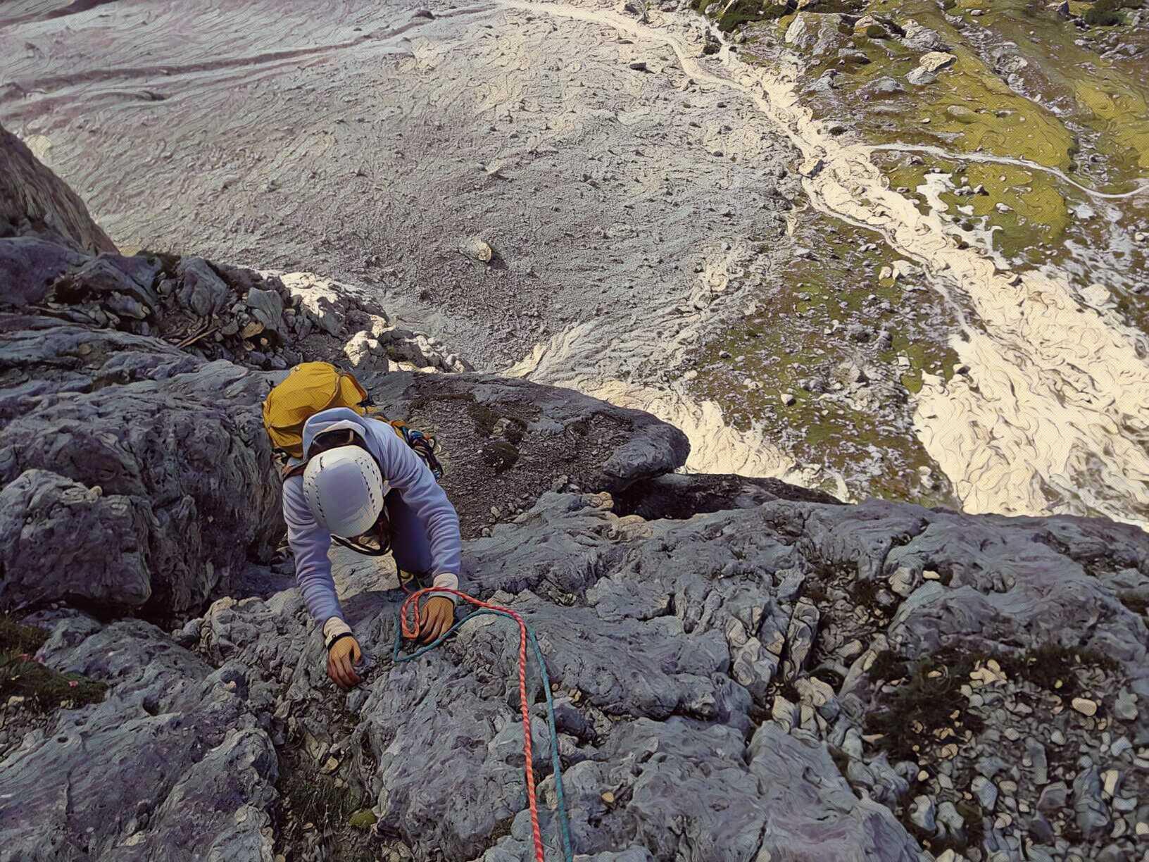 Via del Buco – Piccolo Lagazuoi