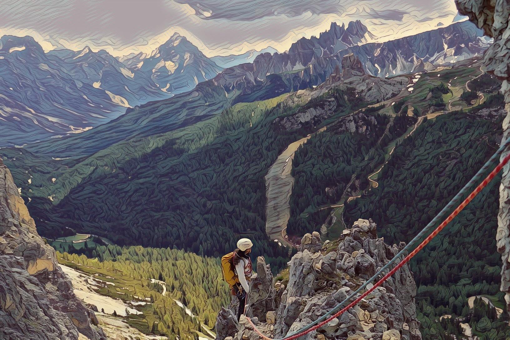Punta Alpini – Spigolo Sud